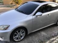 Lexus is 350 07 gris plata