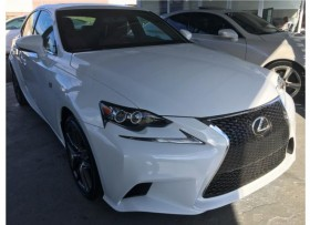 Lexus IS F sport 2014 Excelentes