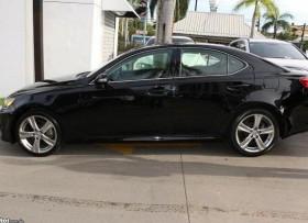 Lexus IS250 Negro Interior Negro