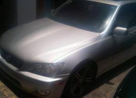 Lexus Is 300 2002 gris excelentes condiciones