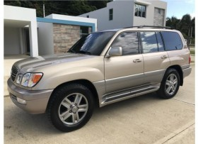 Lexus Lx 470 2001 Land Cruiser