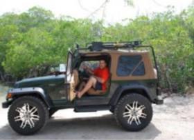 Lindo Jeep Sahara pa la Playa o Domingueo