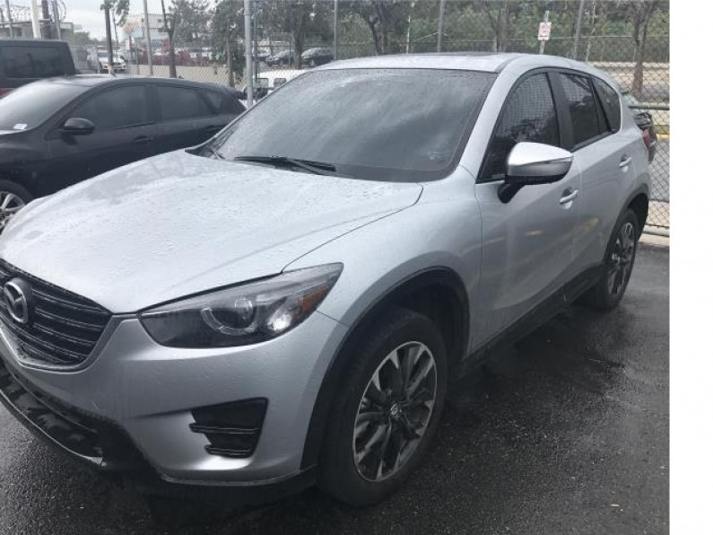 MAZDA CX5 GRAND TOURING 2016 COMO NUEVA