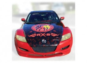 MAZDA RX-8 RED SPIDER 2006