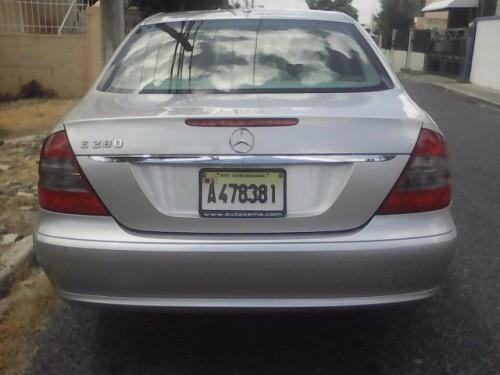 MERCEDES BENZ E280 2007 NITIDO