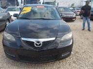 Mazda 3 2007 negro