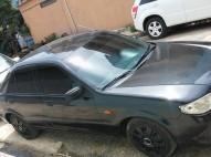Mazda 323 2002 Negro Automatico En Exelentes Condiciones