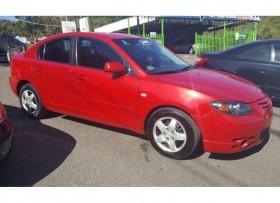 Mazda 3 2006 aut rojo lindo 4500