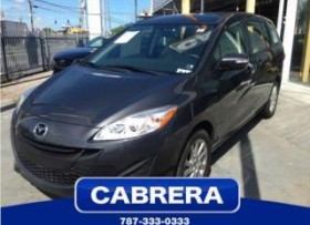 Mazda 5 Mini Van 2013 CABRERA MAZDA FAMILIAR