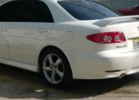Mazda 6 2004 Sport Blanco Version Americana V6 Leathe