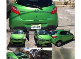 Mazda Demio 2012 verde