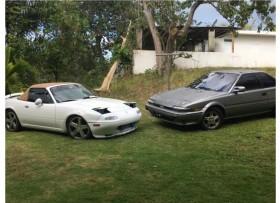 Mazda Miata′91Toyota Corolla ′90