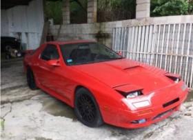 Mazda rx7 1991 la correr de vedad