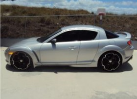 Mazda rx8 con motor cosmo ac