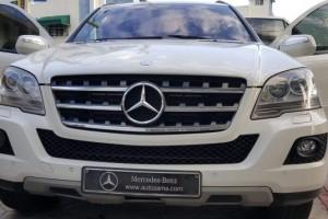 Mercedes Benz ML 280 CDI 2009 Blanca único dueño