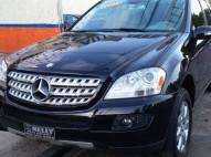 Mercedes benz ml 350 negra