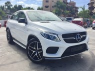 Mercedes-Benz Clase GLE 43 AMG 2018 Blanca