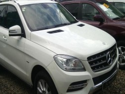 Mercedes-Benz Clase ML 300 2012