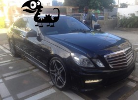 Mercedes Benz E350 2011 En Optimas Condiciones COn Kit Amg Completo