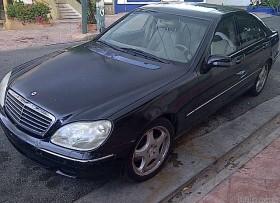 Mercedes Benz S500 2001
