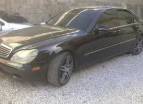 Mercedes benz 2001 s500