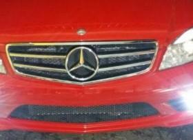 Mercedes benz 2008 c 300 rojo