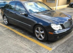 Mercedes c230 2004 kompressor sport package