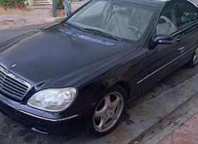 Mercedes s500 2001