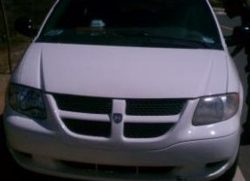 Mini van dodge caravan 2003