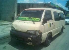 Minibuss hyundai H100
