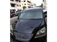 Minivan Honda Odyssey Nueva Negra