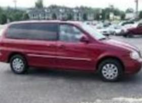 Minivan Kia Sedona 2005