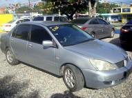 Mitsubishi Lancer 2007 gris plata aros dvd