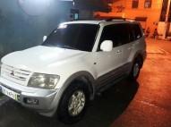 Mitsubishi Montero 2002 Blanca 4x4