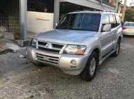 Mitsubishi Montero 2003 Gris