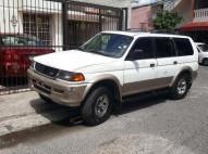 Mitsubishi Montero 97 Gas Natural Blanca