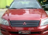 Mitsubishi lancer 2002 rojo aros