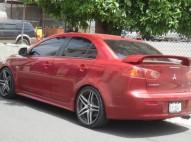 Mitsubishi lancer 2008 GT rojo full con todo