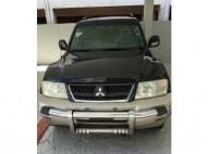 Mitsubishi montero 2003 cara de gato 4x4 limited