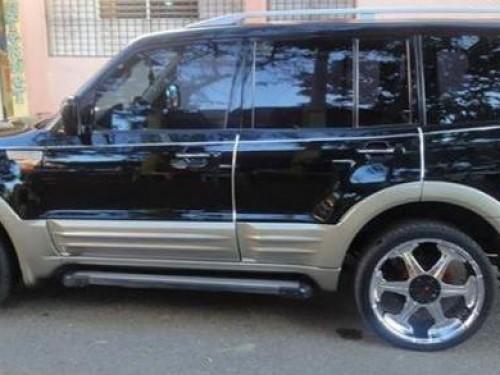 Super Carros Republica Dominicana >> Mitsubishi montero cara de gato, negra , Santo Domingo - 147691