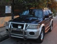 Mitsubishi montero nativa diesel 2002