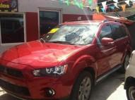 Mitsubishi outlander se 2011 rojo
