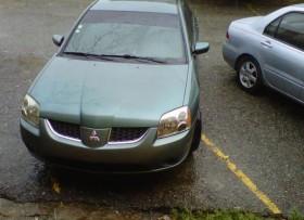 Mitsubishi galant 2005 es verde