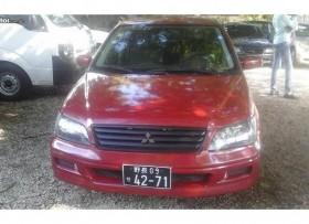 Mitsubishi lancer 2001 Rojo