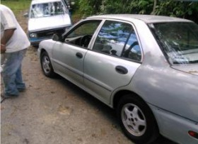Mitsubishi mirage 1995