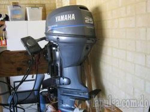 Motor fuera borda yamaha 25 hp 4 tiempos santo domingo for Fuera de borda yamaha