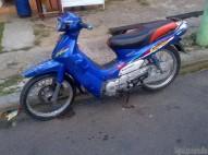 Motor Yamaha Crypton Azul Papeles Placa Nueva Al Dia Precio Ne