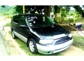 NISSAN QUEST 2001 AIRE FULL POWER
