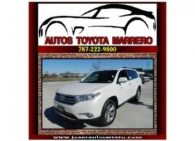 NITIDA-Toyota Highlander Limited Blanco Perla