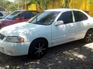 Nissan Sentra 2002 V15 todo full color Blanco NITID0